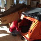 Solving the rooftop tent dilemma… Sort of…
