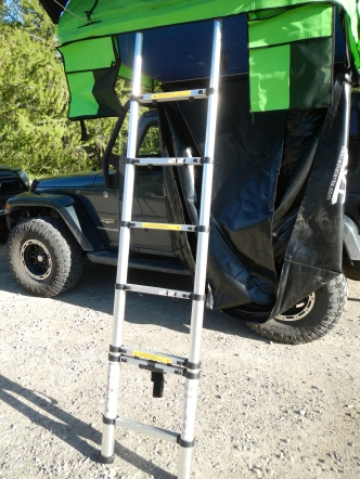 Summit series telescoping ladder