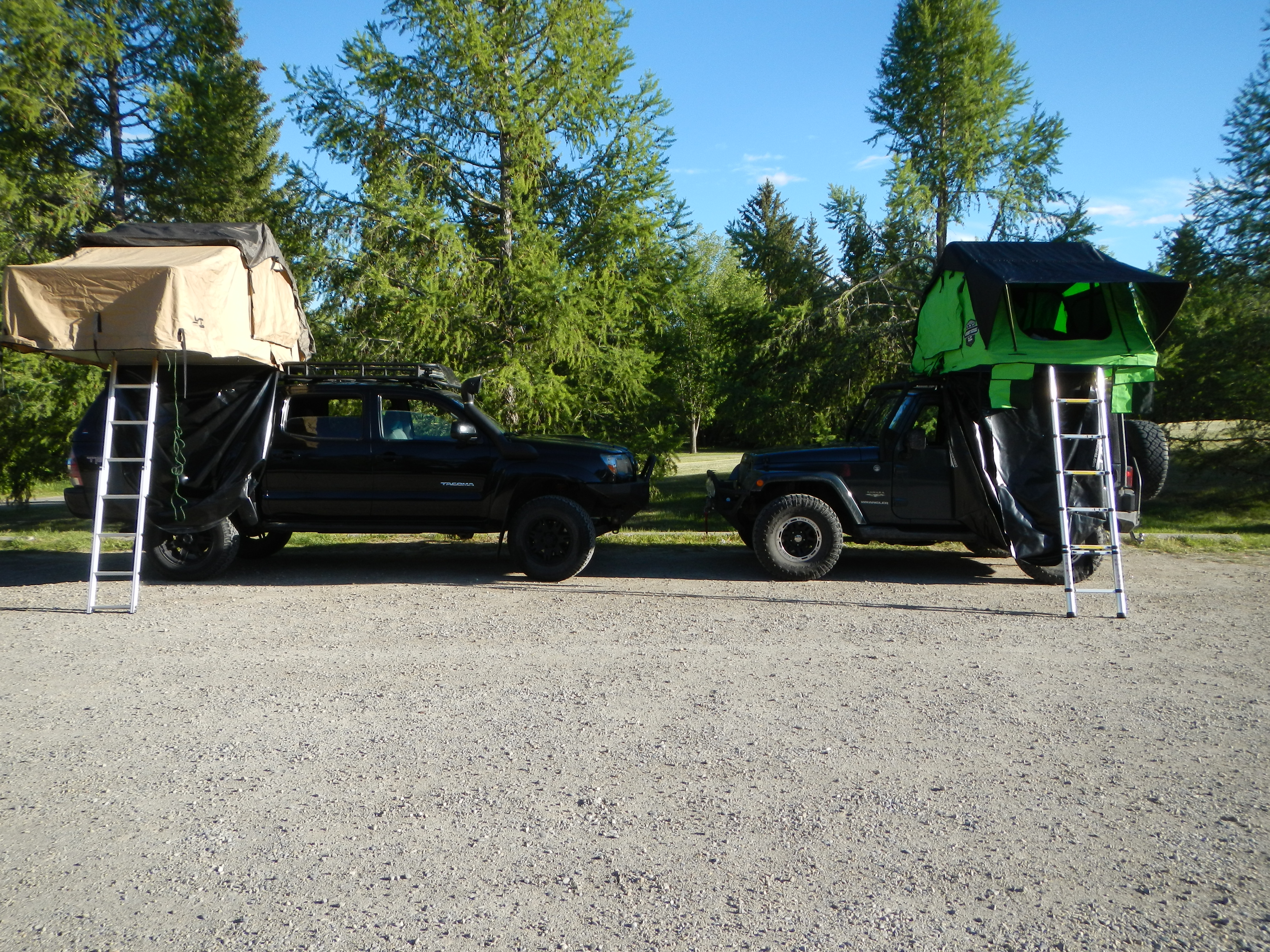 Standard vs Summit Series CVT Tents & Standard vs Summit Series CVT Roof Top Tents u2013 Revisited! u2013 The ...